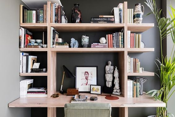 Design-led shelving for small homes