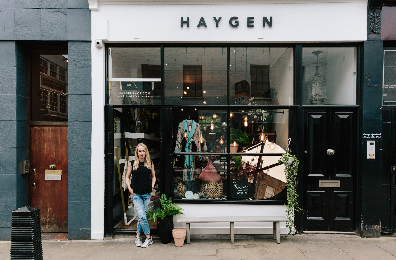 Haygen boutique in Camden Passage
