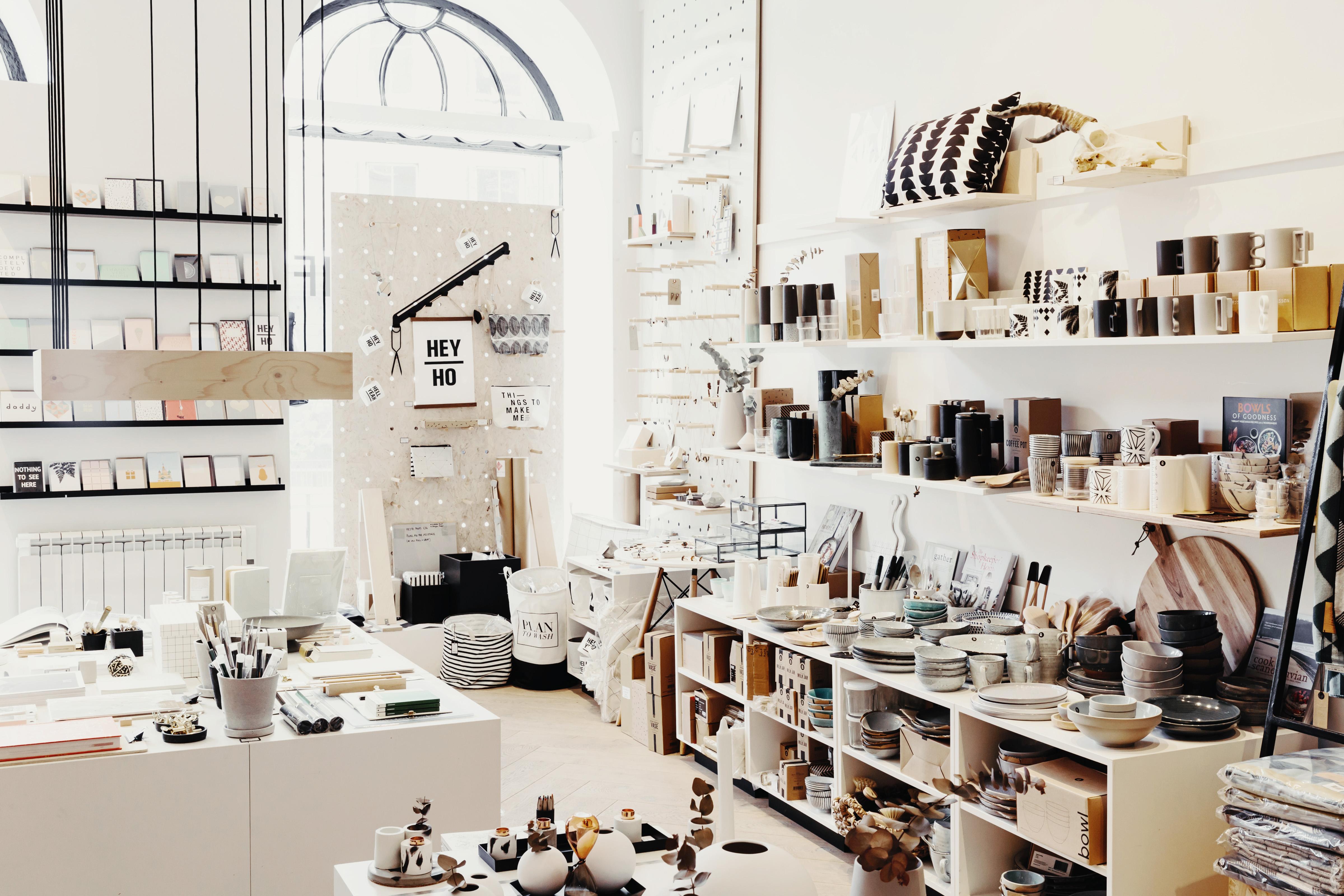 Independent interior and design shop in Edinburgh