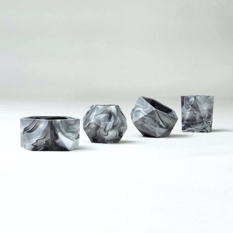 A shot of marble homewares