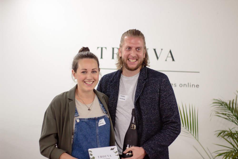 Mark and Liza from Homage, winners of the best Homewares boutique